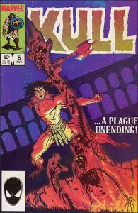Marvel KULL THE CONQUEROR (1983 Series) #5 VF