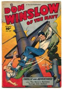 Don Winslow #62 1948- Fawcett Golden Age VG