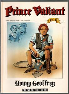 Prince Valiant #15 1990-Fantagraphics-color reprint-Hal Foster-Young Geoffrey-VF