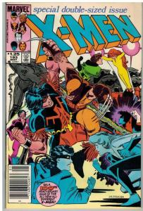 X MEN 193 F-VF May 1985 ($1.25 CVR)