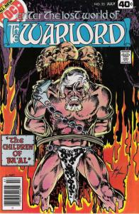 Warlord (DC) #23 VF; DC | save on shipping - details inside