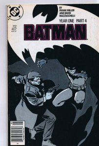 Batman #487 ORIGINAL Vintage 1987 DC Comics Year One Part 4 Frank Miller