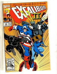 12 Excalibur Marvel Comic Books # 59 61 64 65 66 67 68 71 72 74 79 80 X-Men CJ3