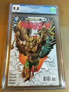 Savage Hawkman #0 CGC Universal Grade 9.8 NM MT (DC 2012) Rob Liefeld