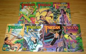 Tarzan the Beckoning #1-7 VF/NM complete series - edgar rice burroughs set lot