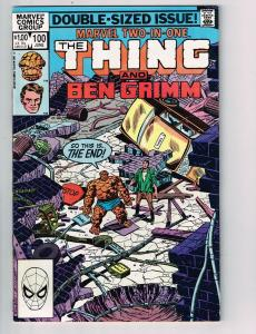 Marvel Two-in-One (1974 1st Series) #100Marvel Comic Book Thing Ben Grimm HH2