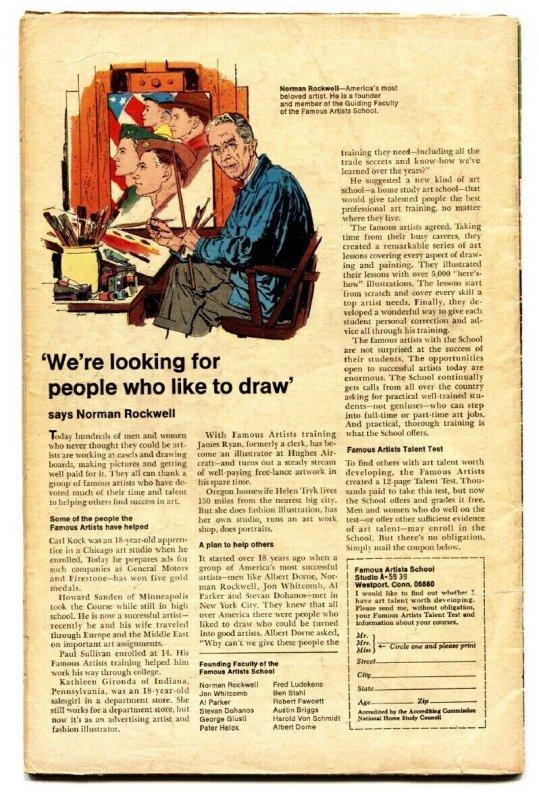 THOR #158 comic book-1968-JACK KIRBY-MARVEL VG