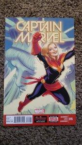 Captain Marvel #15 (2015) VF-NM