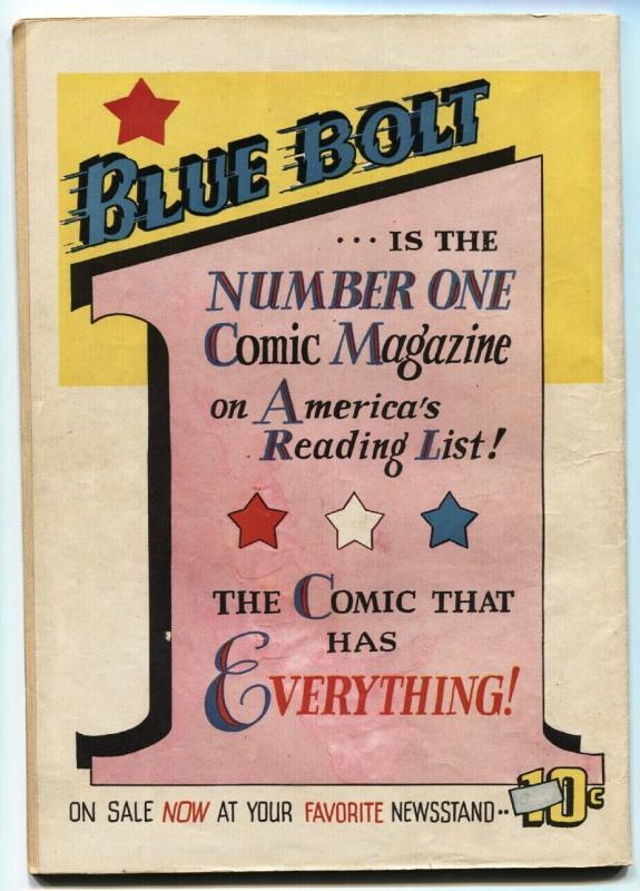 TARGET VOL 3 #9 1942-NOVELTY PRESS-BASIL WOLVERTON ART-CHAMELEON