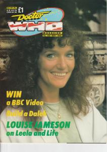 Doctor Who Magazine No. 136 May 1988