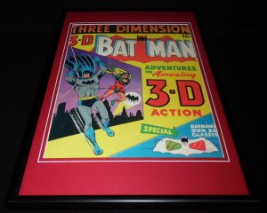Batman & Robin in 3D Framed 12x18 Cover Photo Poster Display Official Repro