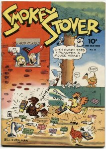 FOUR COLOR COMICS #35-SMOKEY STOVER BY BILL HOLMAN-NEWSPAPER REPRINTS-DELL