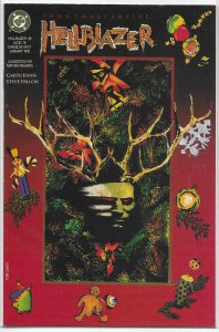 Hellblazer (vol. 1, 1988) # 49 VG Ennis/Dillon, Canty cover, Christmas