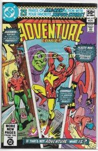 Adventure Comics   vol. 1   #477 FN Aquaman, Plastic Man, Starman