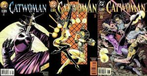 CATWOMAN (1993) 22-24  Family Ties complete story arc