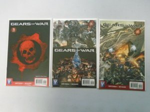 Gears of War run #1-3 NM (2008 Wildstorm)