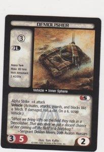 1998 Battletech Arsenal Card Demolisher