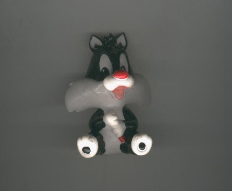 Muñeco de goma: Silvestre de bebe