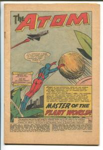 ATOM #1 1962-DC COMICS-FIRST ISSUE-1ST PLANT MAN-pr