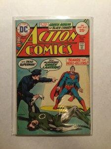 Action Comics 444 Very Good/Fine Vg/Fn 5.0 Dc Comics