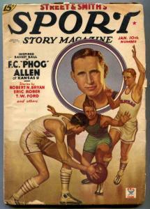Sport Story Pulp January 10 1935- FC Phog Allen g/vg