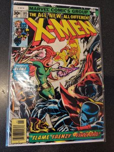 X-MEN #105  Firelord, Lilandra, Misty Knight & Eric the Red