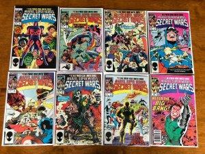 Secret Wars comic lot from#2-12 avg 8.0 VF (1984)