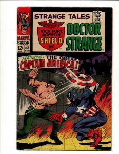 Strange Tales # 159 FN/VF Marvel Comic Book Nick Fury Doctor Strange Captain SN1