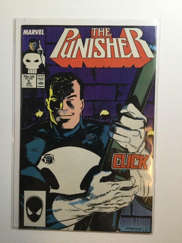 Punisher 5 Near Mint Nm Marvel