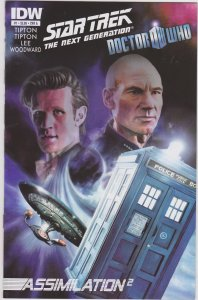 Star Trek: the Next Generation/Doctor Who: Assimlation 2 #1