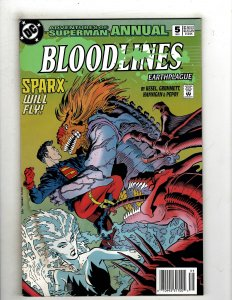 Adventures of Superman Annual #5 (1993) YY7