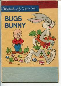 MARCH OF COMICS #259 1964-K.K. PUBS-BUGS BUNNY-EASTER EGG COVER-good/vg