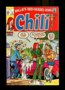 CHILI 2-1969-GAS STATION COVER-MAN IN LOVE  VF