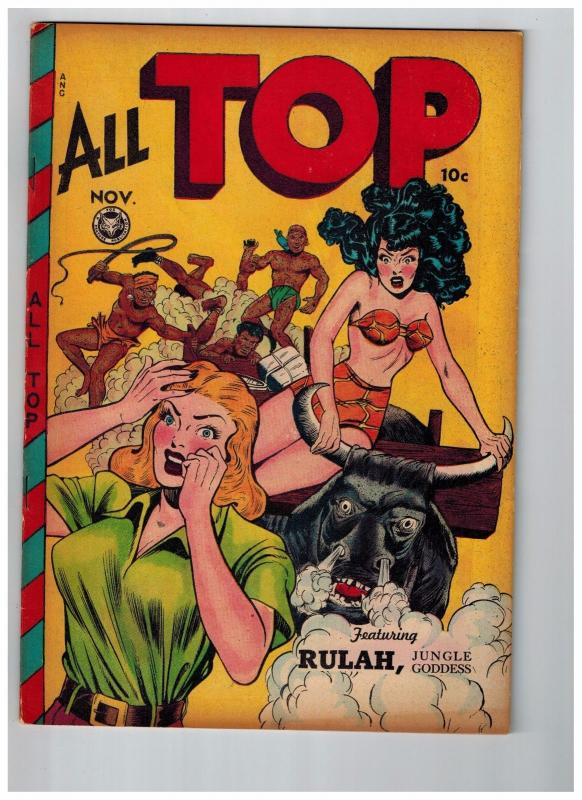 All Top Comics # 14 NM- 1948 Fox Features Syndicate Golden Age Comic Book JJ1