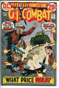 G.I. COMBAT #158 1973-DC-THE HAUNTED TANK-JOHN SEVERIN-nm-