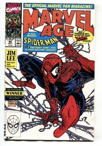 Marvel Age #90 Spider-Man #1 preview comic book 1990