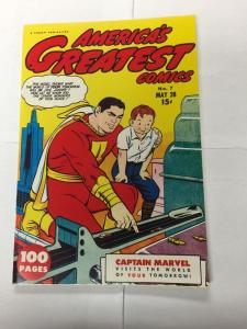 Special Edition Reprints Flashback Comics 32 Americas Greatest 7 Nm Near Mint