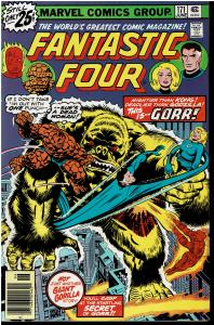 Fantastic Four #171, 8.0 or Better *KEY* 1st Gorr the Golden Gorilla