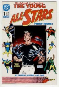 YOUNG ALL-STARS #1, NM+, All-Star Squardron, 1987