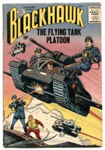 Blackhawk #106 1956- Flying Tank Platoon VG