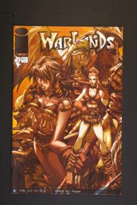 Warlands # 2 September 2001 Image Comics
