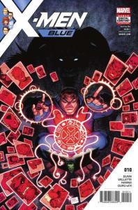 X-Men: Blue #10, NM (Stock photo)