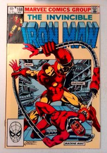 Iron Man #168 Marvel 1983 NM- Bronze Age Comic Book 1st Print
