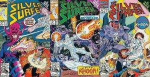 SILVER SURFER (1987) 67-69  INFINITY WAR TIE-IN