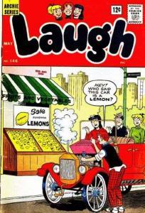Laugh Comics #146, VG+ (Stock photo)