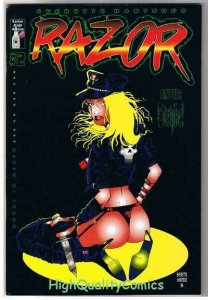 RAZOR #2, VF/NM, Femme Fatale, 2nd, Everette Hartsoe,1992, more indies in store