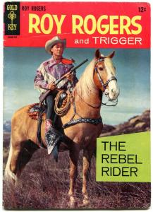 Roy Rogers and Trigger #1 1967 Gold Key Western- Alex Toth VG+