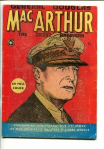 GENERAL DOUGLAS MACARTHUR 1951-ONE SHOT ISSUE-FOX-ACTION-PACKED TRUE LIFE-vg