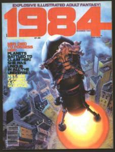 WALLY WOOD, RICH CORBEN, MAROTO 1984 #2(1978)x 3 UNCIRC COMICS BOOK