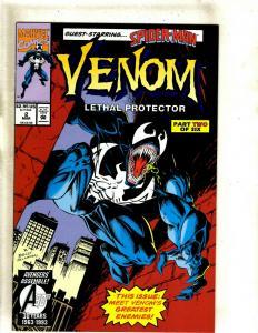 Venom Lethal Protector # 2 NM Marvel Comic Book Spider-man Bagley Delarosa J383
